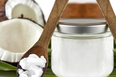 Organic Coconut Oil as Massage Oil