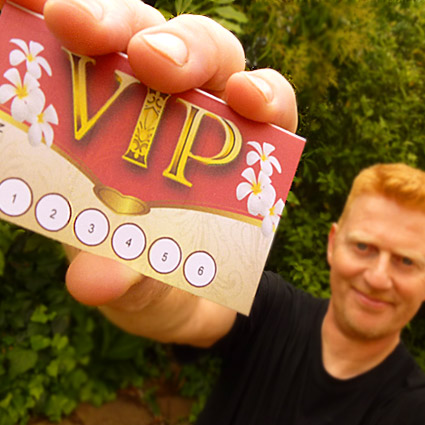 The Bangkok Therapist VIP card gives you many benefits