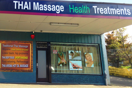 See your Thai Therapist at 24 Mill street in Hamilton. Parking is available right in front of the door