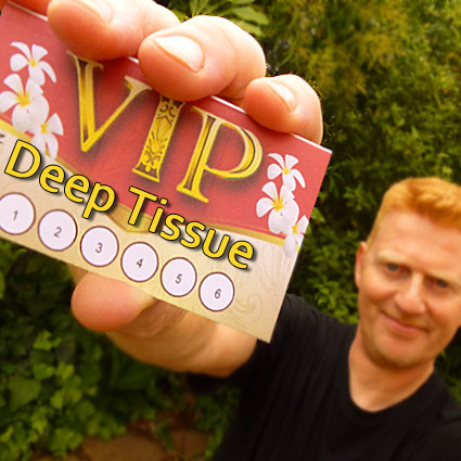VIP card Deep Tissue