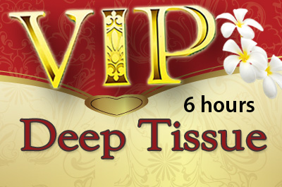 VIP 6 hour Therapeutic Deep Tissue Package