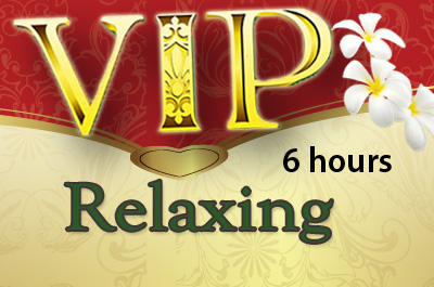 VIP 6 hour Thai Relaxing Massage Package